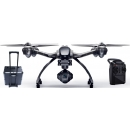 Yuneec Quadrocopter Q 500 4K Typhoon inkl. 2 Akkus, Alukoffer, FB, Steady Grip