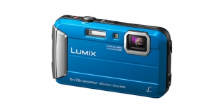 Lumix DMC FT 30 blau